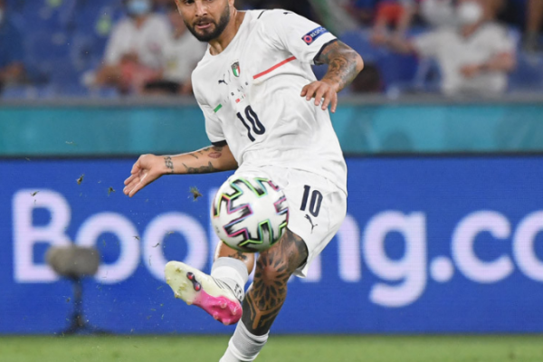 Lorenzo Insigne: the hottest man in the opening match